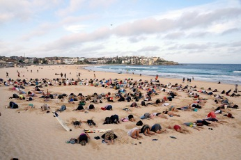 G20 Climate Protest on Bondi Beach