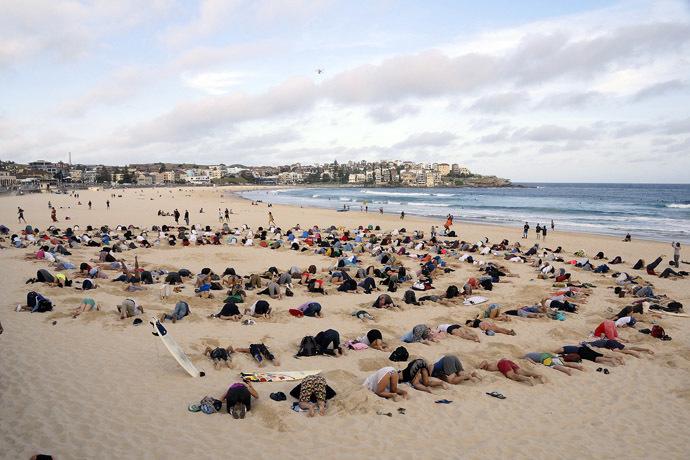 G20 Climate Protest on Bondi Beach