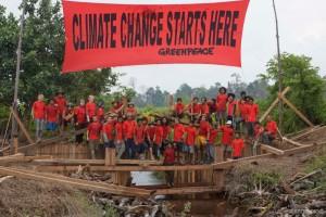 Greenpeace Climate Defender Camp
