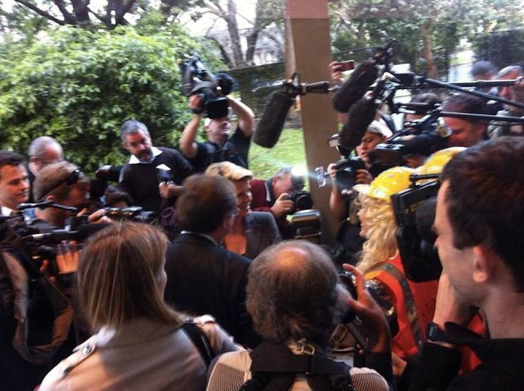 Coal Diggers & Julie Bishop link: http://climacts.org.au/coal-diggers/